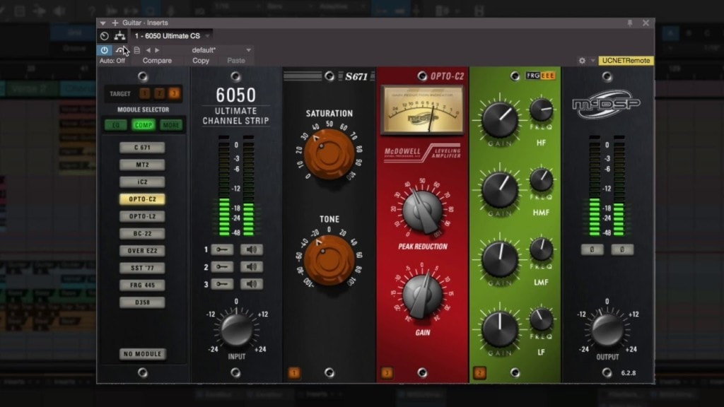 The McDSP 6050 Ultimate Channel Strip